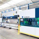 Erweiterung des Maschinenparks durch die TruBend 5170 mit ToolMaster