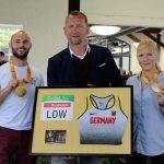 Paralympic-Gold-Stars zu Besuch in Rahden